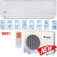 Gree Smart DC Inverter Wifi New (Обогрев при -20°С)