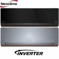 Neoclima ArtVogue Silver/Black Inverter New 2020 (Обогрев при -20С)