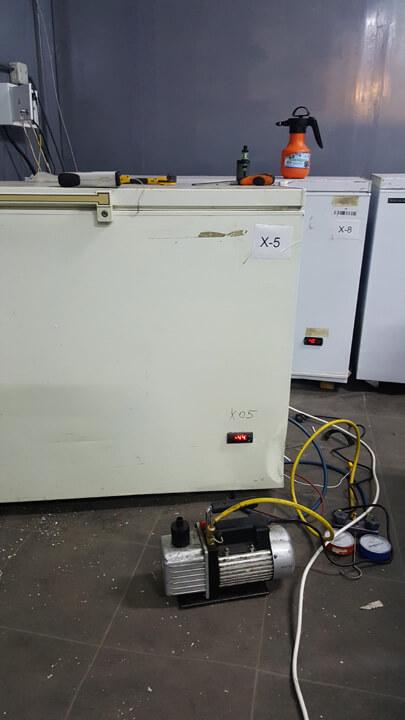 Ремонт морозильной камеры (морозильного ларя) с температурным режимом -45℃