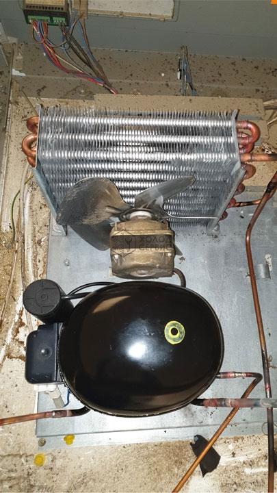 Ремонт морозильной камеры Polair